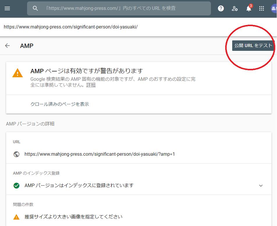 amp公開URLテスト